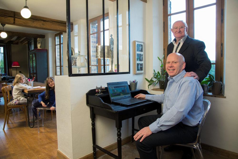 plateforme internet collaborative de logements pour senior
